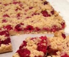 Raspberry and Walnut Crumble Slice | Official Thermomix Recipe Community