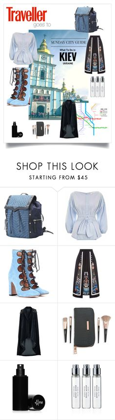 """""""Kiev II: Outfits for travel goes to"""" by onenakedewe ❤ liked on Polyvore featuring Diesel, Zimmermann, Valentino, Temperley London, Veil London, Saks Fifth Avenue, Frédéric Malle, Byredo, ukraine and kiev"""