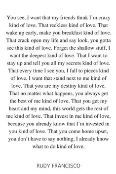 Rudy Francisco Love Poem for him or her
