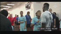 Neymar And Pogba Having A Laugh manchester united vs barcerlona 2017