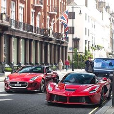 Hostile territory.  #ItsWhiteNoise #Jaguar #Ferrari  @joshua.efford