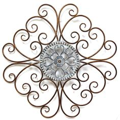 Metal Scroll Wall Decor found it at wayfair - rustic everlasting metal scroll wall décor