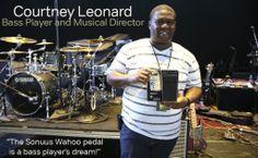Courtney Leonard Bassist with Philip Phillips http://www.phillipphillips.com