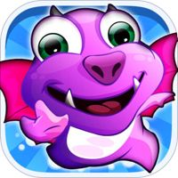 Baby Dragon Jump Dragonlings™ Pro - Pages From The Great Dragon Escape Through Fire City by Go Free Games - Best Top Fun Apps