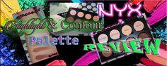 Review Italiana Nyx highlight & contour pro palette