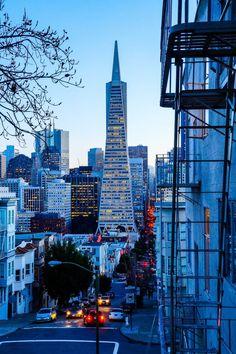 San Francisco at blue hour - California
