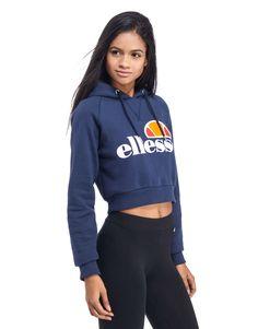 Ellesse Crop Overhead Hoody - Shop online for Ellesse Crop Overhead Hoody  with JD Sports d11727a807a