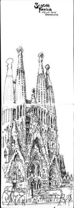 Barcelona Sagrada Familia, De Meyer Arnaud
