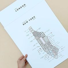 Our maps are perfect for travel lovers or interior design fanatics! Here are our New York and London prints ❤️  @42pressed   #lifestyleblogger #lifestyle #maps #travel #travelgram #travelbuddy #travelbug #nyc #newyork #london #city #cityscape #interiors