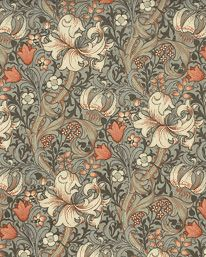 Golden Lily Minor Artichoke/Vanilla från William Morris & Co