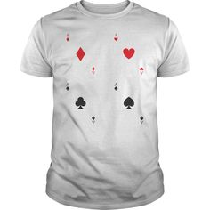 Ace Playing Cards Poker T Shirt