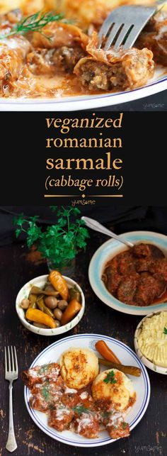 Bursting with flavour, my veganized Romanian sarmale are easy to make, will keep for 10 days in the 'fridge, and taste even better, the longer they're kept. | yumsome.com via @yums0me