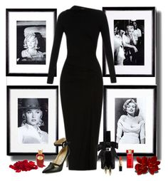 """""""Marilyn"""" by whiteflower7 ❤ liked on Polyvore featuring Eichholtz, Vivienne Westwood Anglomania, Manolo Blahnik, Givenchy, Alexis Bittar, Bobbi Brown Cosmetics, Estée Lauder and Sospiro"""