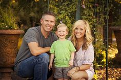 Family pictures.  Family of 3.  Joyful Gestures Photography.
