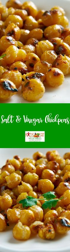 Enjoy these high protein, crispy chickpeas without any processed ingredients and zero trans fats.  Snacking made healthy!