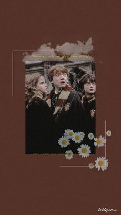 I see lotta the golden trio 's wallpapers but I haven't seen the aesthetic one. Here I made the aesthetic one , just for you , and feel free to use. Comment your thoughts below ☺️ Harry Potter Characters, Harry Potter World, Boy And Girl Best Friends, Harry Potter Background, Cartoon Wallpaper Iphone, Harry Potter Pictures, Harry Potter Aesthetic, Harry Potter Wallpaper, Character Wallpaper
