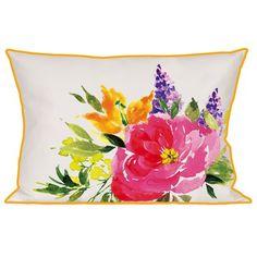 Zipcode™ Design Ramona Watercolor Flower Indoor/Outdoor Lumbar Pillow