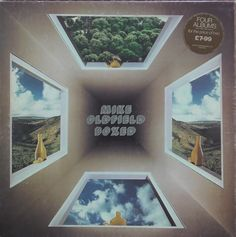 Mike Oldfield Boxed Virgin box set feat Tubular Bells, Hergest Ridge, Ommadawn and Collaborations. Vinyl Record Shop, Old Vinyl Records, Cover Art, Tubular Bells, Classic Rock Albums, Mike Oldfield, John Peel, Rock Album Covers, Pochette Album