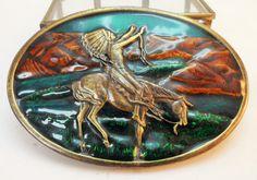 Bergamot Brass Works 1977 Vintage Green & by BelieveToBeBeautiful