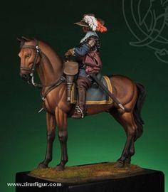 Berliner Zinnfiguren | Oficial de la caballería española | compra en línea