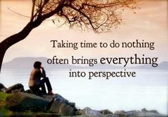 Quiet time is the best time to reflect and clear your mind.