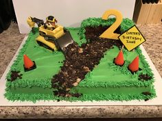Paw Patrol Rubble Birthday cake (Fun Birthday Cakes Pictures)