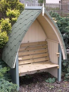 Hendersons-Dutch-Tiled-and-Painted-Garden-Arbour-Seat