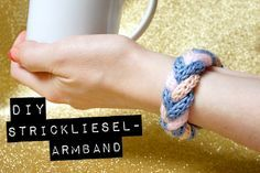 DiY Strickliesel-Armband | orangenmond.at