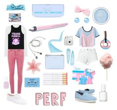 """""""~Transgender~"""" by the-problematicfave ❤ liked on Polyvore featuring ONLY, WearAll, Bitching & Junkfood, WithChic, Latelita, TOMS, Essie, Keds, Arizona and CASSETTE"""