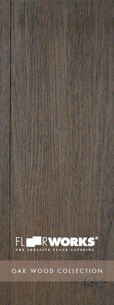 Can you believe it's #LVT #Flooring ? // #Floorworks ® Oak Wood #Plank Collection // Gunsmoke Oak // Learn more & order samples here http://matsinc.com/commercial-flooring-products/contract-flooring/luxury-vinyl-planks/floorworks-oak-wood.html: