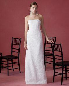 Oscar de la Renta Fall 2016 Wedding Dress Collection | Martha Stewart Weddings