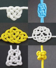 Fusion Knots is a great website when in need for knot inspiration. It is such a nerdy site but it is super hel...