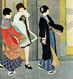Ishikawa Hideomi 石川秀民 Kaze no hi (Day of Wind) - 1929 source: taishou-kun.tumblr.