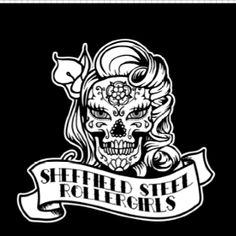 Newest t-shirt design for Sheffield Steel Roller Girls by Mute Art
