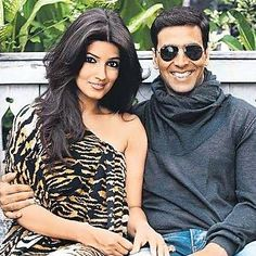 Akshay said, 'Twinkle is talented and headstrong. More than her beauty, it's these qualities that I fell in love with.'