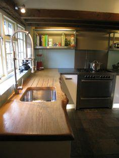 Wooden work top Kitchen