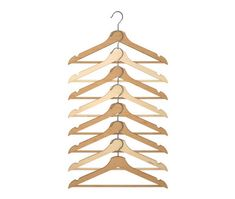 Ikea Wood Clothes Hanger, 8 Pack, Natural Chrome Plated New Tiny Laundry Rooms, Farmhouse Laundry Room, Glass Storage Jars, Jar Storage, Ikea Bedroom Storage, Bedroom Closets, Bedroom Organization, Organization Ideas, Storage Ideas