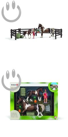 Animals and Nature 31744: Schleich Horse Feeding Play Set -> BUY IT NOW ONLY: $91.38 on eBay!