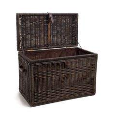 The Basket Lady Wicker Storage Trunk - :Large