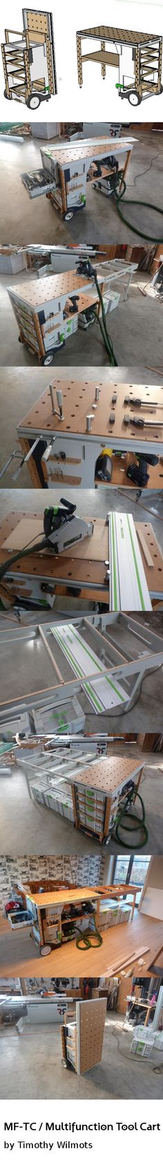 Shopmade versatile workbench. Plans available. http://www.benchworks.be/mftc.html