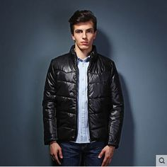 59.16$  Watch here - http://aliat5.worldwells.pw/go.php?t=32232466848 - Man Winter Short Cotton Jacket Casual Stand Collar Plus Size Mens Jackets And Coats Chaquetas Hombre 2014 Free Shipping S896 59.16$