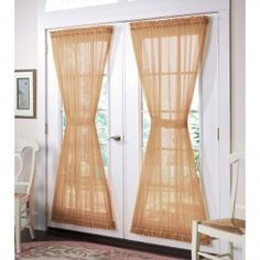 Click Here to shop for French Door Curtain Panels at Amazon.com