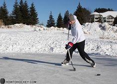 A slapshot is my favorite type of shot in ice hockey.