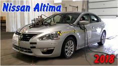 Задний краш тест Nissan Altima 2018
