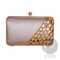 Global Wealth Trade Corporation - FERI Designer Lines Purse Wallet, Coin Purse, Optical Glasses, Champagne Color, Sterling Silver Jewelry, Fashion Accessories, Rose Gold, Purses, Metal