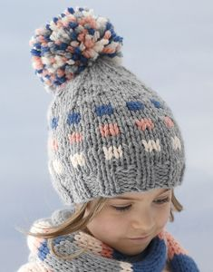 Modèle Bonnet enfant Phil Rapido Knitting For Kids, Catalogue, Knitted Hats, Creations, Winter Hats, Sculpture, Wool, Children, Projects