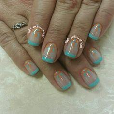 Pocahontas nails. Mandala nails. Precious Phan Nails.