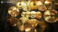 Our cymbals collection.