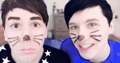 WOILD UOU PPL STOP DOING THIS >>> what happened to Phil's eyebrows
