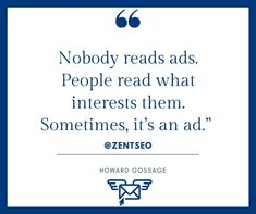 follow: @zentseo  Just because you've put your marketing message out there, doesn't mean anyone will read it.  People will only read your ads, your posts, or your blog if it piques their interest.  Never forget that people generally don't look out for your advertising. It's not what they're interested in.    #zentseo #digitalmarketingquotes #digitalmarketingtips #digitalmarketingsolutions #digitalmediamarketing #digitalmarketing #brandingstrategy Digital Marketing Quotes, Marketing Articles, Advertising, Ads, Simple Way, Forget, Posts, Messages, Learning